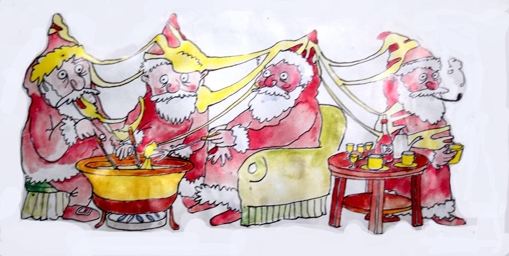 kerstfondue